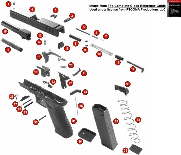 lone wolf distributors Glock 27 Parts Diagram