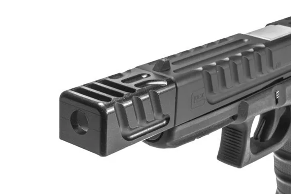 Machined Alpha Wolf Compensator Pattern 3 Square