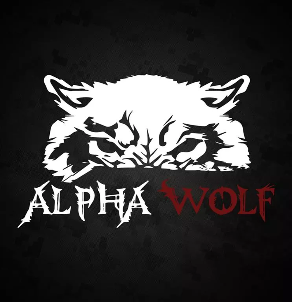 Alpha Wolf Category Logo