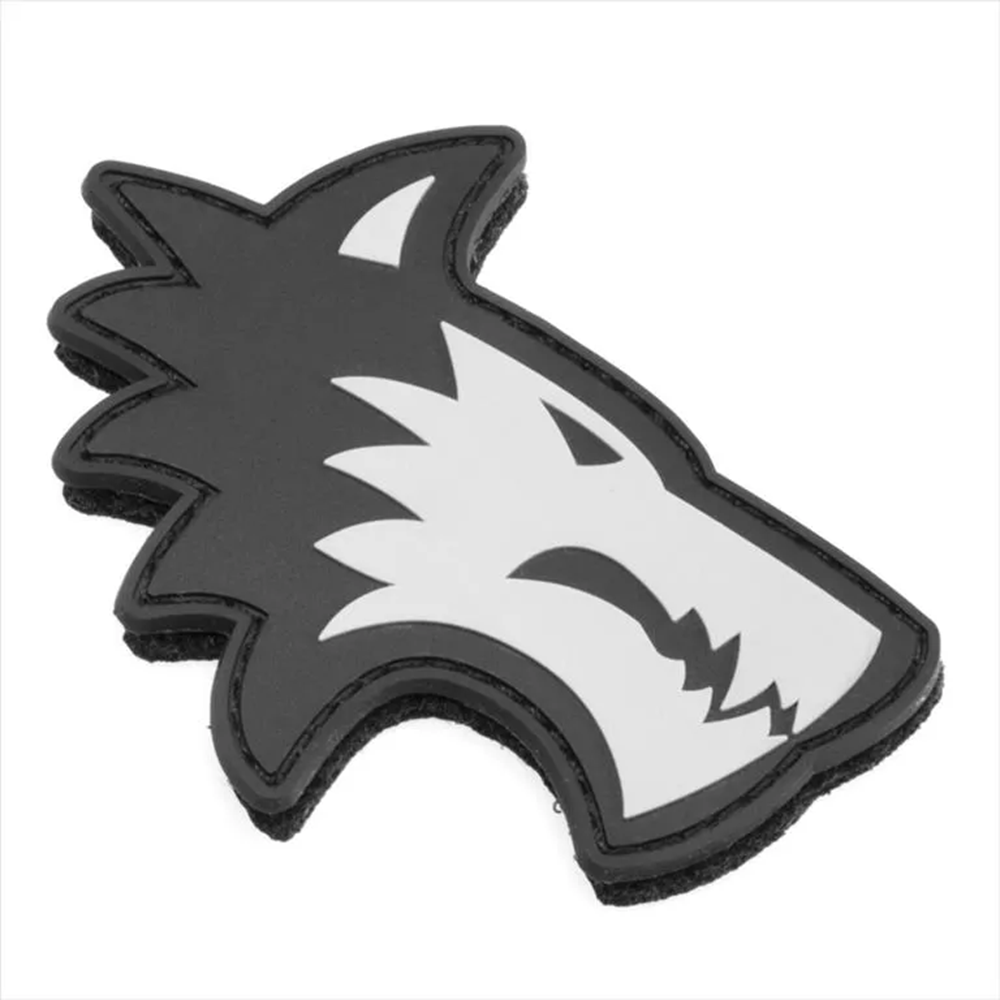 Lone Wolf PVC Wolf Head Patch