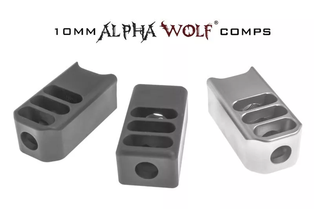 Alpha Wolf 10mm compensators