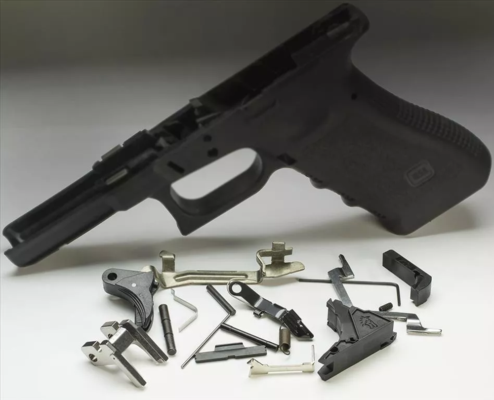 GEN3 frame completion kit for GEN3 Glock