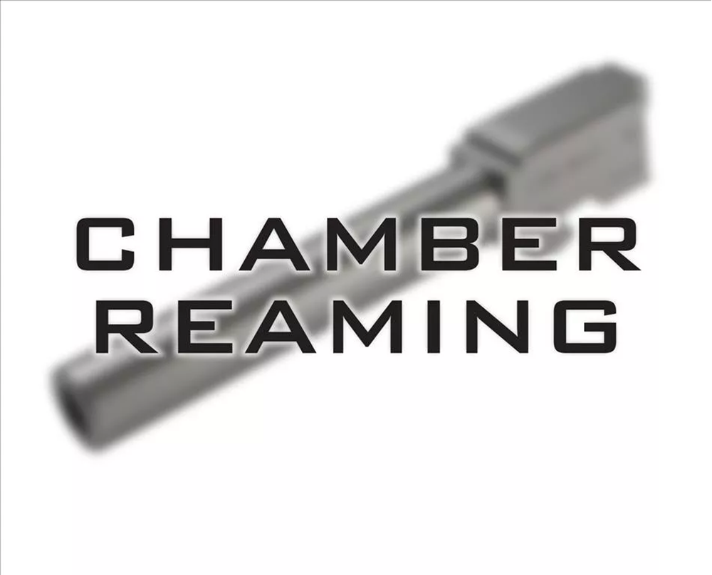 Barrel chamber reaming