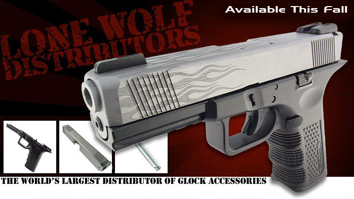 Lone Wolf Distributors, for your Glock apparel. Lwdmain
